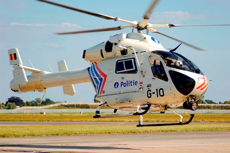 MD-900 helicopter. Foto: Giel Sweertvaegher