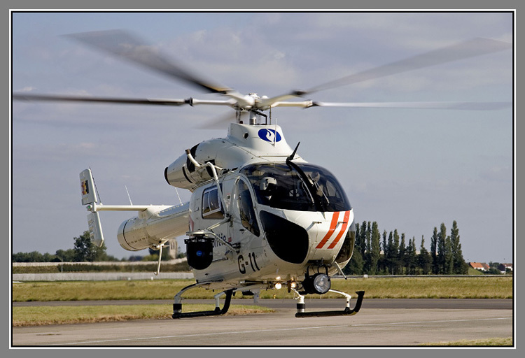 Belgie, MD-900 helicopter. Foto: Internet 2008